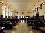 Reading room at Emory University